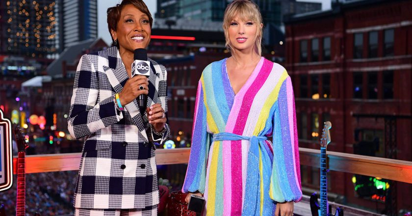 "Taylor Swift Robin Roberts Interview, Taylor Swift announces new song called ""ME!"""