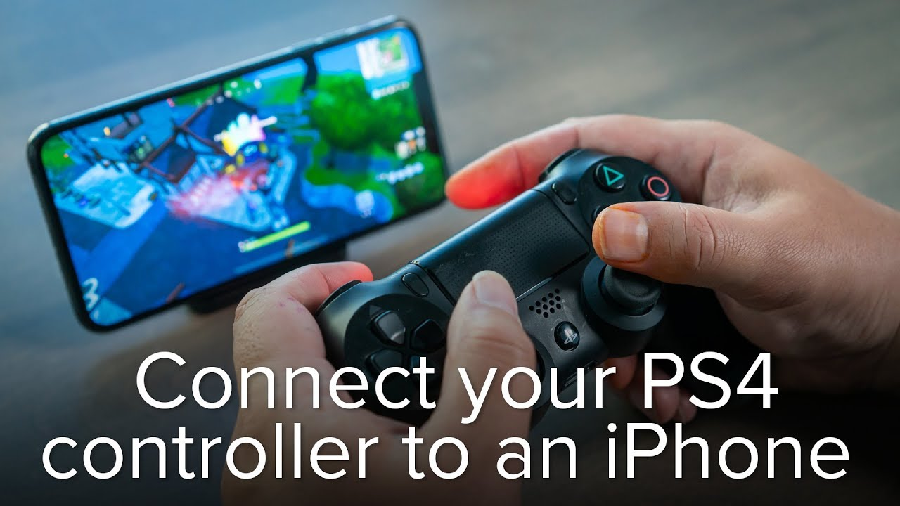 How to Connect a PS4 Controller To a Phone or iPhone