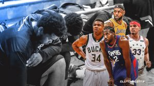 Read more about the article NBA Players Kneel During National Anthem on Restart Opening Night