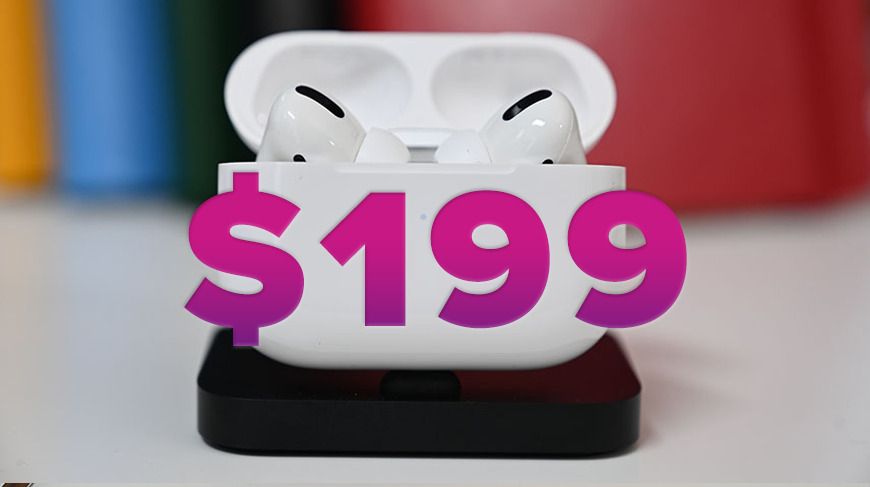 Read more about the article Apple AirPods Pro With Their Lowest Price $199 yet