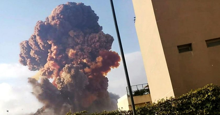 Massive Warehouse Explosion Rocks Beirut Causing Thousands of Injuries