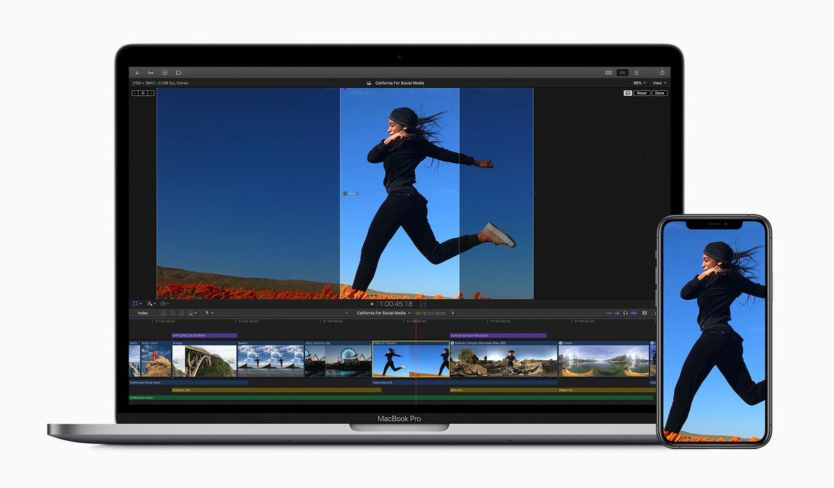 Read more about the article Apple Makes Final Cut Pro X Work better For Video Editing