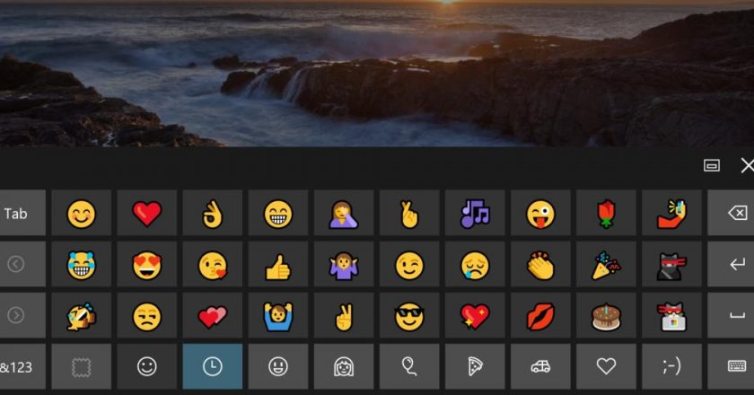 The All New Emoji Keyboard is Here With Windows 10