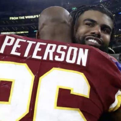 The Washington Football Team releases RB Adrian Peterson